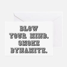 BLOW YOUR MIND Greeting Card