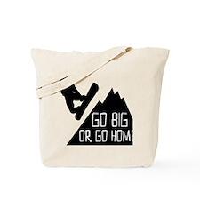 Snowboarder Go Big Tote Bag
