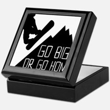 Snowboarder Go Big Keepsake Box