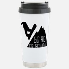 Snowboarder Go Big Travel Mug