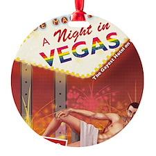 A Night In Vegas Ornament