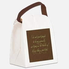 liking people Canvas Lunch Bag