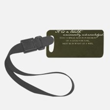 2-truth journal Luggage Tag