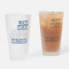 lean mean ff machine_dark Drinking Glass