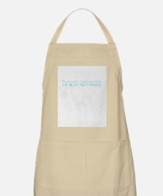 nothings journal Apron