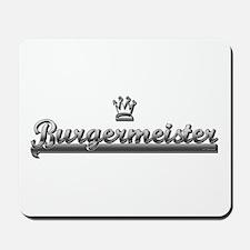 BURGER MEISTER Mousepad