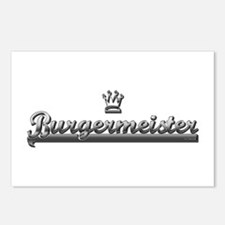 BURGER MEISTER Postcards (Package of 8)
