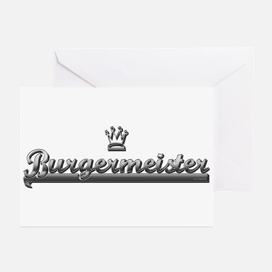BURGER MEISTER Greeting Cards (Pk of 10)