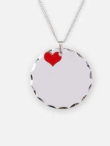 I-Love-My-Basset-Hound-dark Necklace