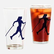 nordic_walking Drinking Glass