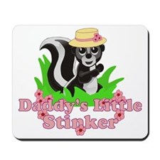 Daddys Little Stinker Girl Mousepad