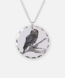 Southern Boobook Owl Necklace
