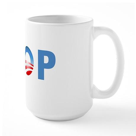 log-i-poop-CP Large Mug