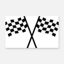goal_flags Rectangle Car Magnet