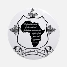 africa_final Round Ornament