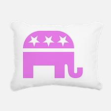 cp politics317 Rectangular Canvas Pillow