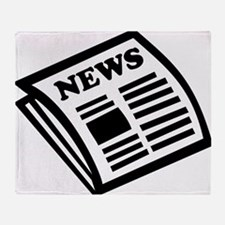 news Throw Blanket