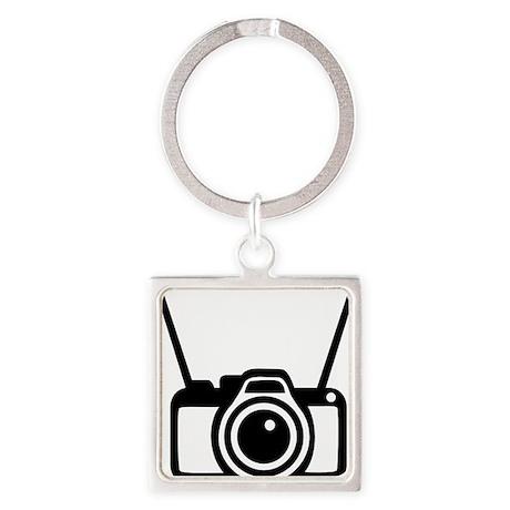 camera_strap Square Keychain