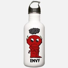7deadlysinsshirtenvy Water Bottle