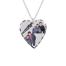 joey Necklace Heart Charm