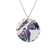 joey Necklace Circle Charm