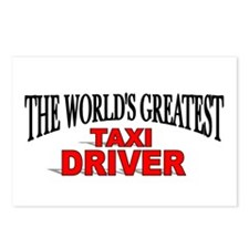 """The World's Greatest Taxi Driver"" Postcards (Pack"