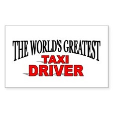 """The World's Greatest Taxi Driver"" Decal"