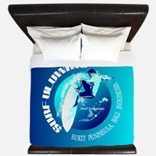 Surf Uluwatu King Duvet