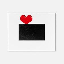 I-Love-My-Doberman-Pinscher-dark Picture Frame