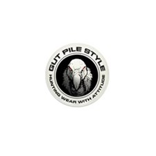 Gut Pile Style Hunting Wear Mini Button