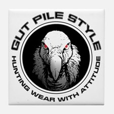 Gut Pile Style Hunting Wear Tile Coaster