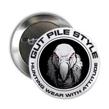 """Gut Pile Style Hunting Wear 2.25"""" Button"""