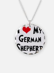 I-Love-My-German-Shepherd Necklace