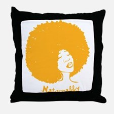 naturally Throw Pillow