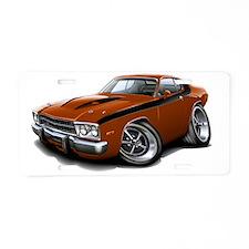 1973-74 Roadrunner Bronze-B Aluminum License Plate
