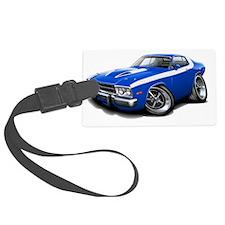 1973-74 Roadrunner Blue-White Ca Luggage Tag