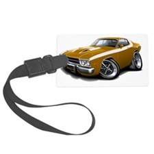 1973-74 Roadrunner Gold-White Ca Luggage Tag