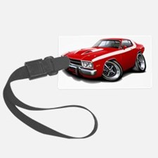 1973-74 Roadrunner Red-White Car Luggage Tag