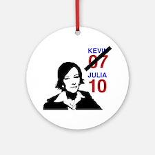 JULIA10 Round Ornament