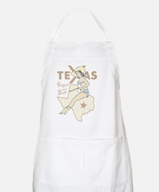 Faded Texas Pinup Apron