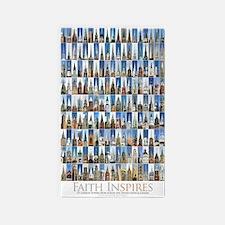 faith_inspires_23x35_2 3'x5' Area Rug