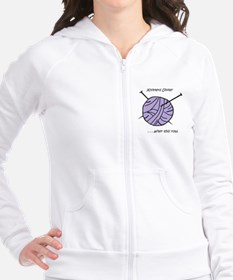 ball yarn Fitted Hoodie