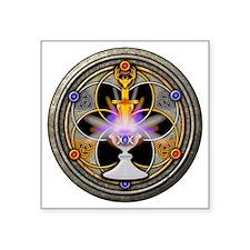 """The Pagan Great Rite Square Sticker 3"""" x 3"""""""