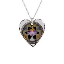 The Pagan Great Rite Necklace Heart Charm