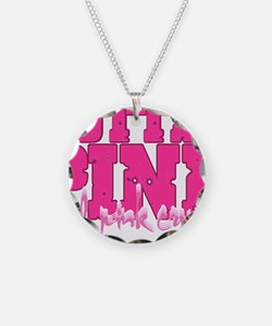 Lil pink crush hotter pink 2 Necklace