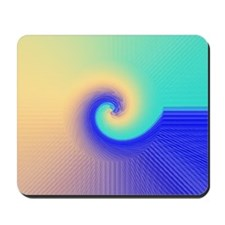 Miami Swirly Mousepad