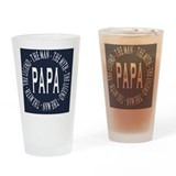 Papa Pint Glasses