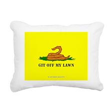 GITOFFMYLAWN Rectangular Canvas Pillow