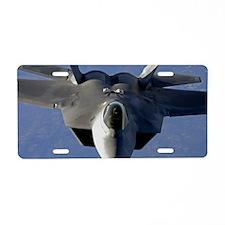 AB63 C-MNpst Aluminum License Plate