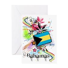 flowerBahamas1 Greeting Card